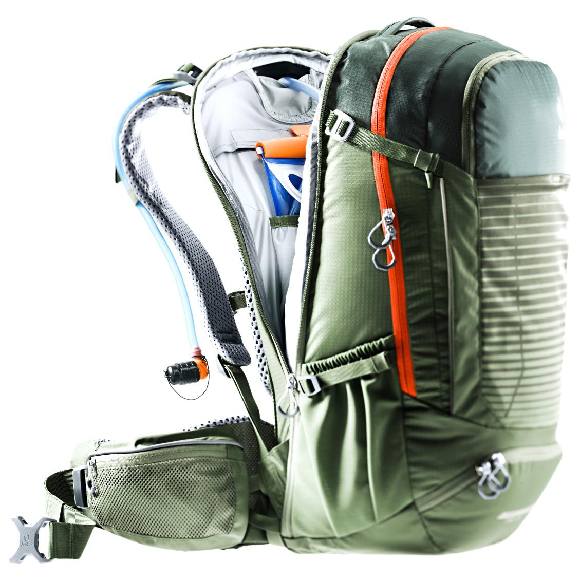 deuter trans alpine pro 28 bike rucksack. Black Bedroom Furniture Sets. Home Design Ideas