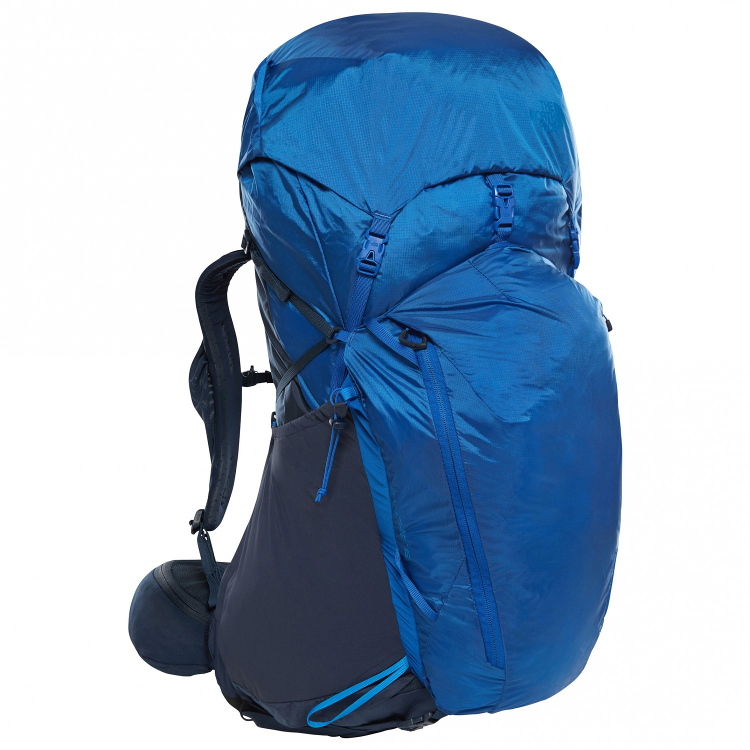 f212a7889 The North Face - Banchee 65 - Walking backpack - Urban Navy / Bright Cobalt  Blue | 65 l - L/XL