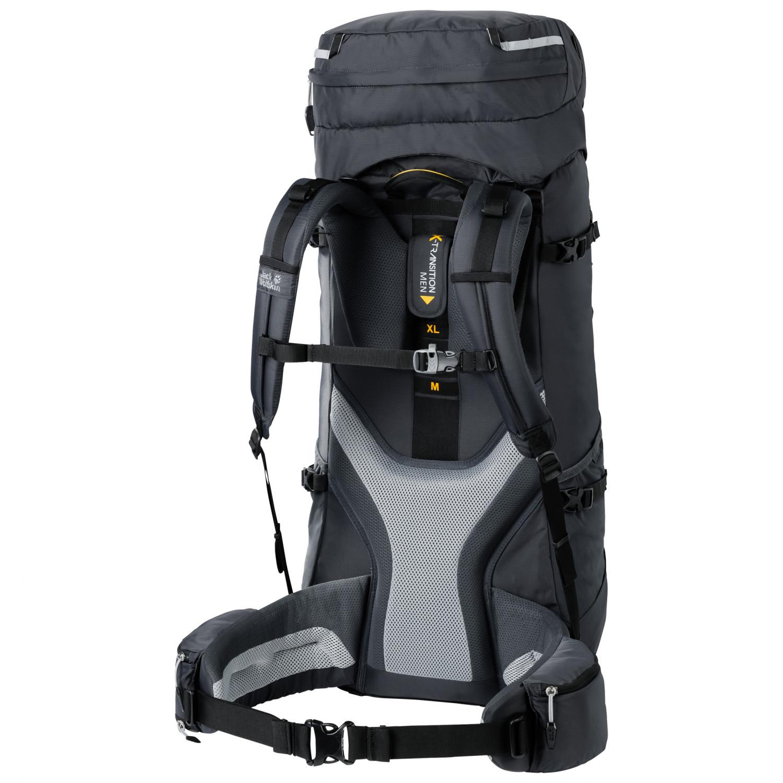 Jack Wolfskin Highland Trail 55 Trekkingrucksack Dark Indigo | 55 + 5 l M XL