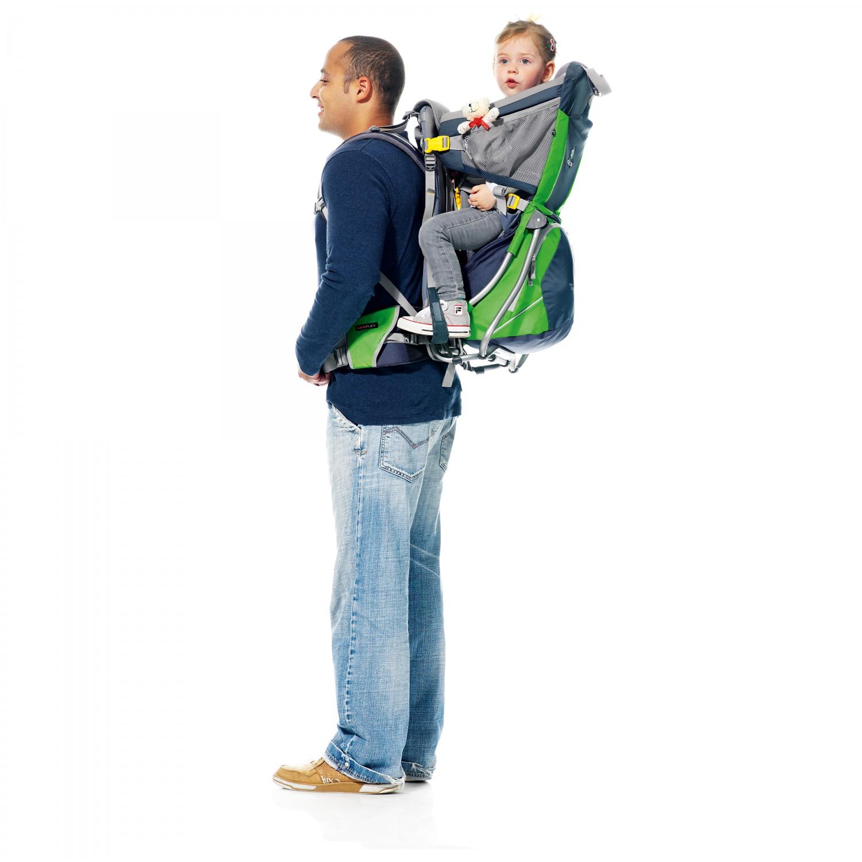 d61e6ef239 Deuter Kid Comfort Air - Zaino porta bimbo | Acquista online ...