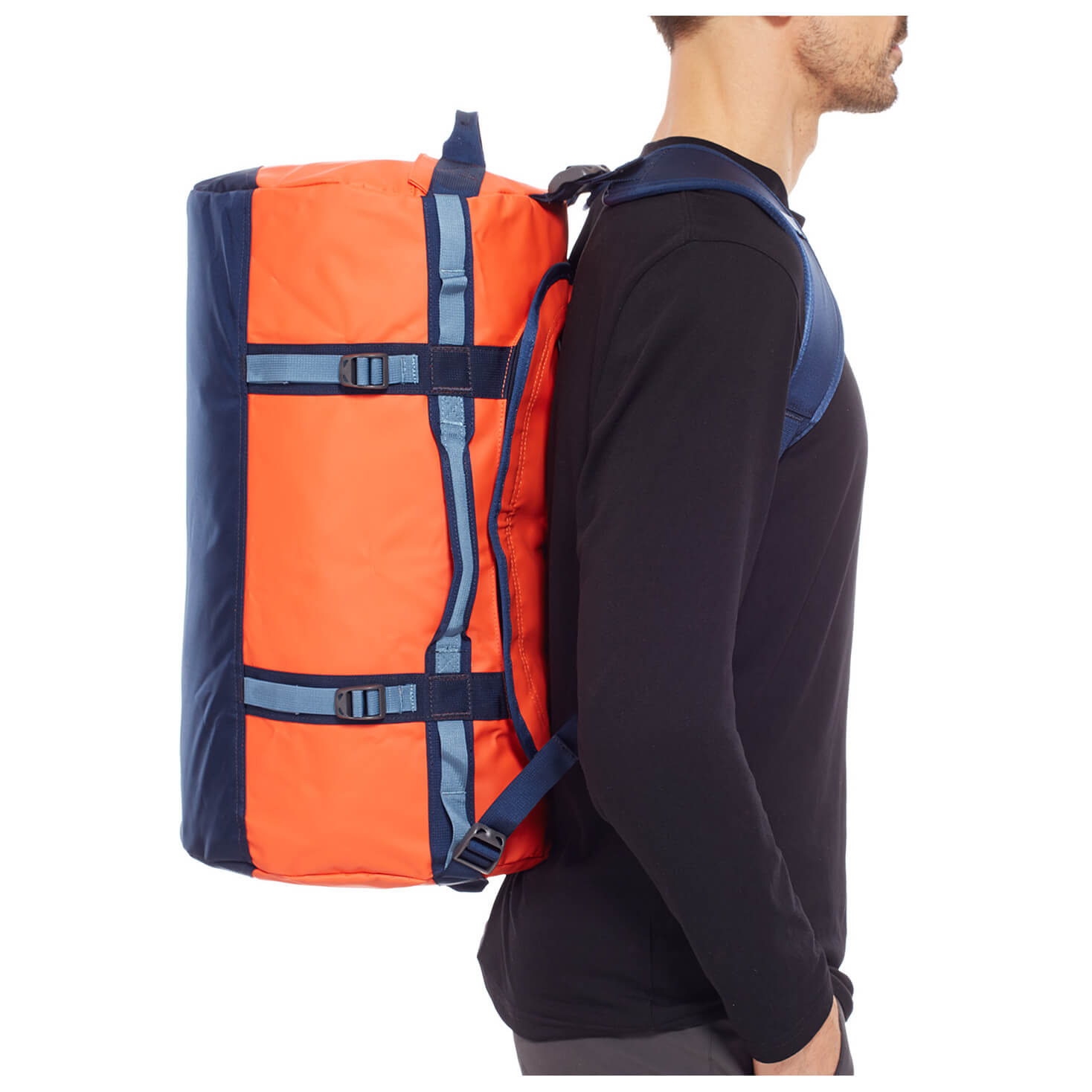 the north face base camp duffel small reisetasche. Black Bedroom Furniture Sets. Home Design Ideas