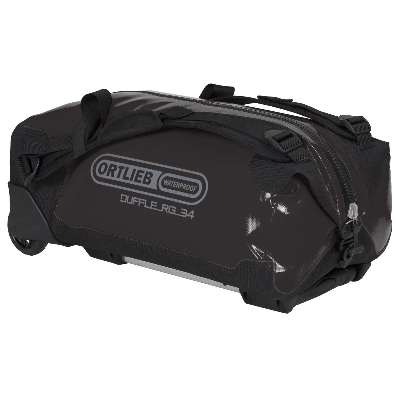 Ortlieb 34L Duffle RG Bag w//Telescopic Handle Black