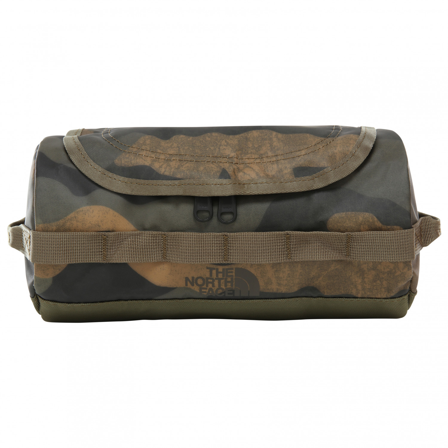 015bdb995 The North Face - Base Camp Travel Canister - Wash bag - Burnt Olive Green  Waxed Camo Print / Burnt Olive Green | 3,5 l - S
