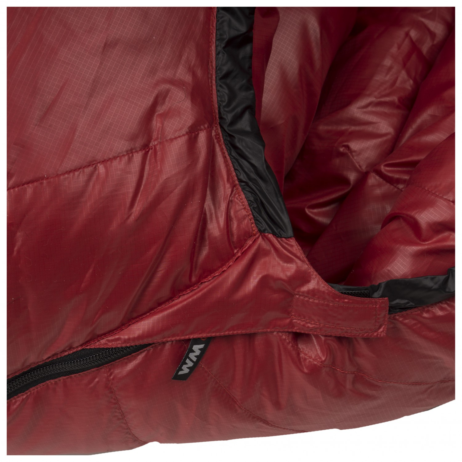 competitive price 5d289 035c9 Western Mountaineering - Apache MF - Down sleeping bag - Red / Black | 165  cm - Zip: Left