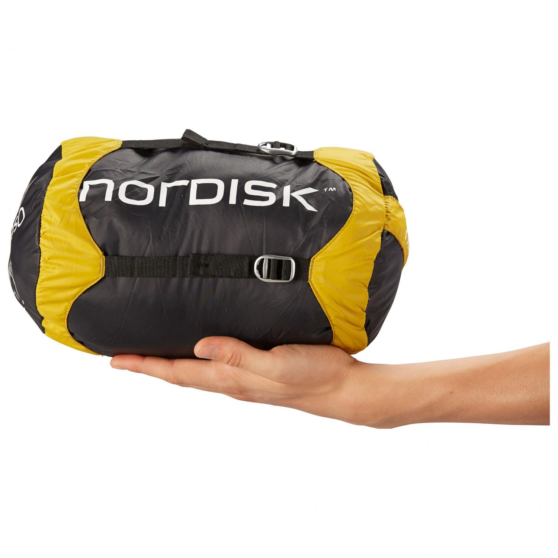 pretty nice 62dbc f216a Nordisk - Oscar -20° - Kunstfaserschlafsack - Yellow / Black | L