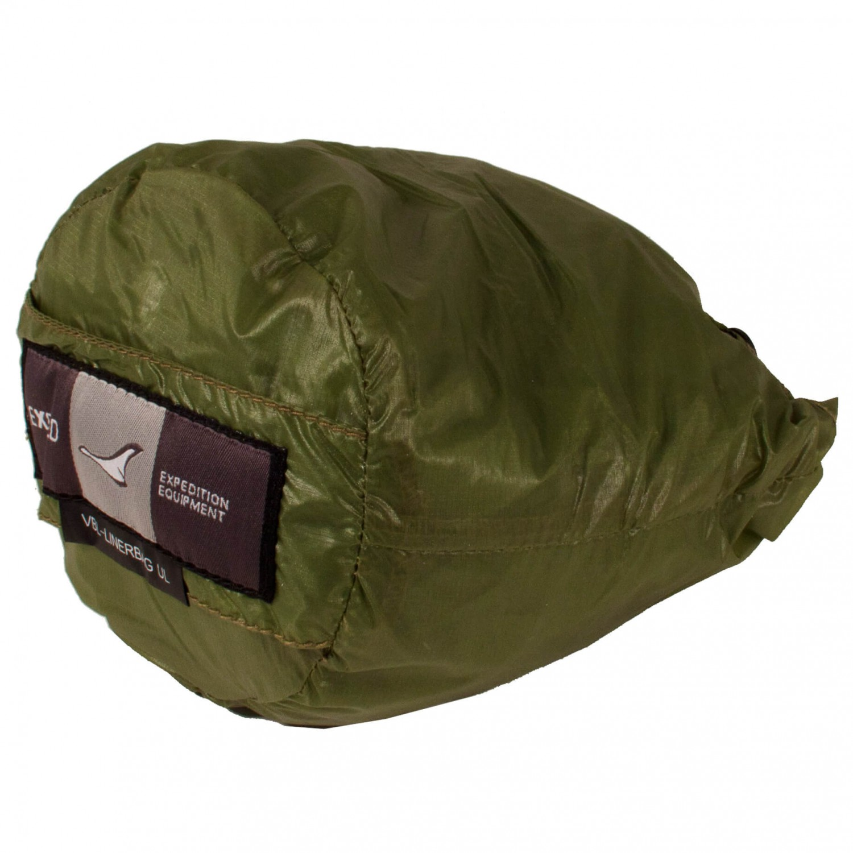 buy online f1426 740c2 Exped - VBL Linerbag UL - Biwaksack - Green | 185 cm