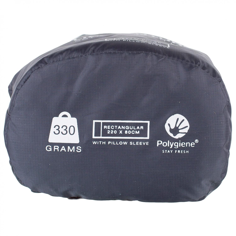Lifeventure Cotton Stretch Anti Bact Sleeping Bag Liner