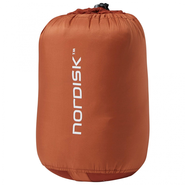 nordisk knuth junior burnt red sac de couchage pour enf. Black Bedroom Furniture Sets. Home Design Ideas