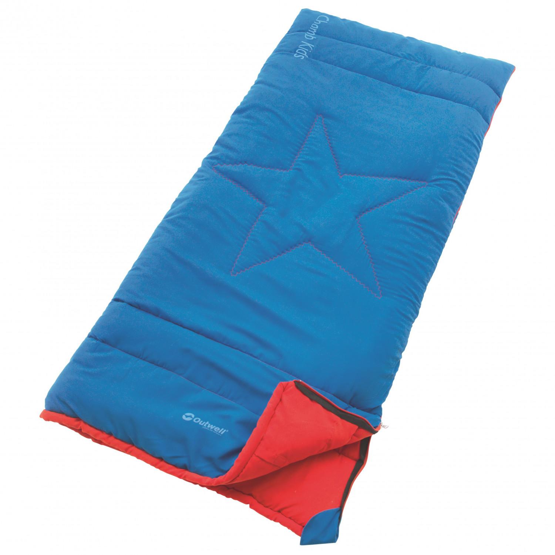 Outwell Kid S Champ Kids Sleeping Bag Lake Blue 150 X 70 Cm