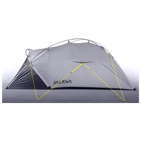 salewa litetrek iii tent tente 3 places livraison gratuite. Black Bedroom Furniture Sets. Home Design Ideas