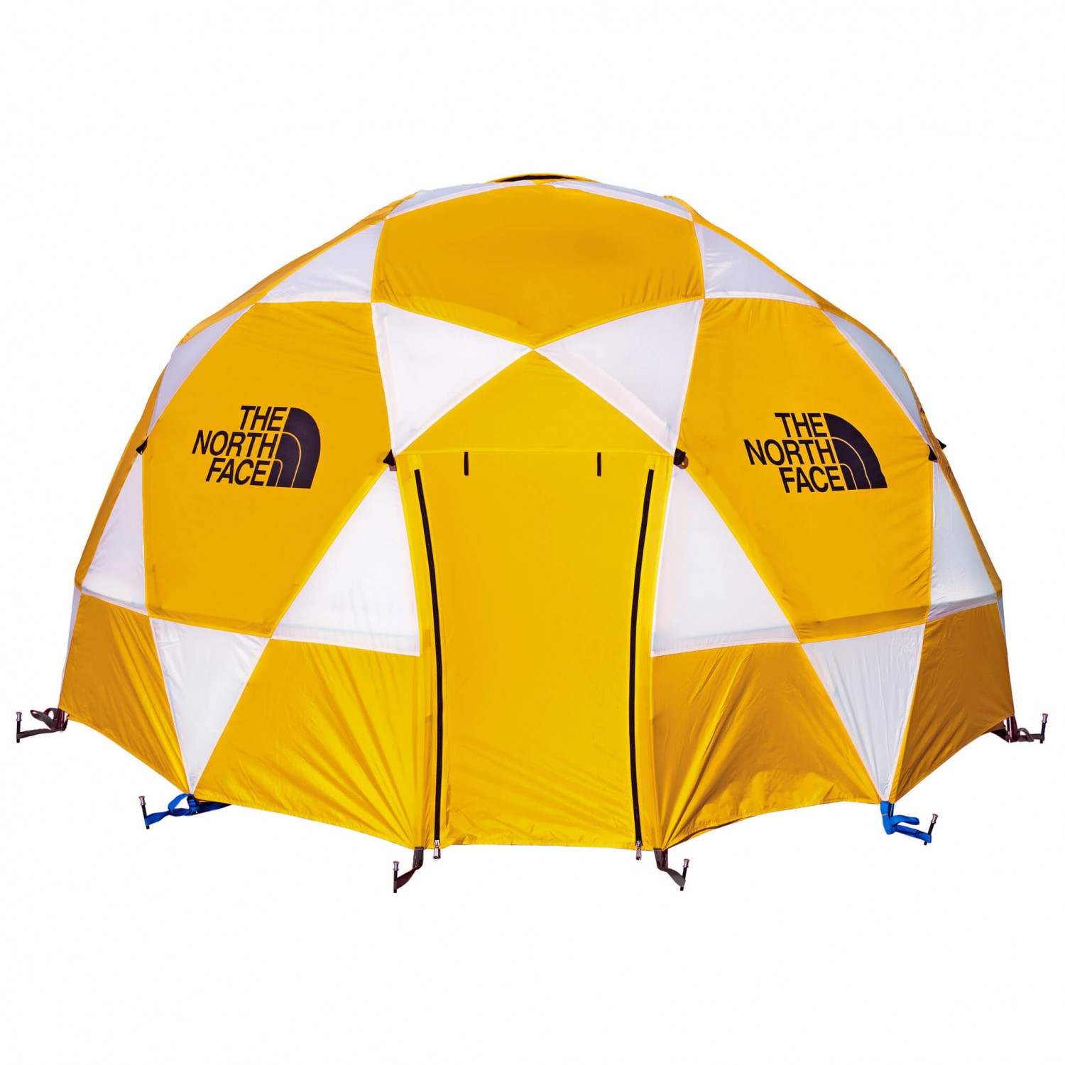 //encrypted-tbn0.gstatic.com/images?qu003dtbnANd9GcTEX6KPX4Czd17ODS5g7gblbbs2GavoOxfRHtdQN7MjnKhWqRN2vQ & The North Face - 2-Meter Dome - Group tent - Gold / White / Black