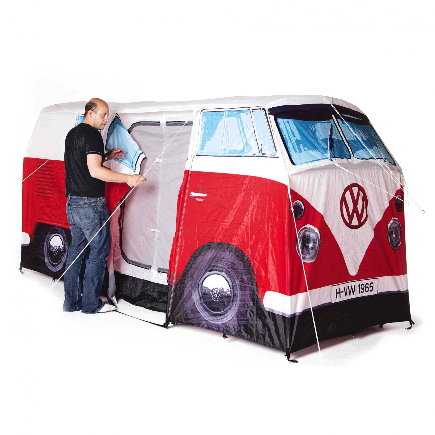 the monster factory vw camper van tent air bus zelt. Black Bedroom Furniture Sets. Home Design Ideas
