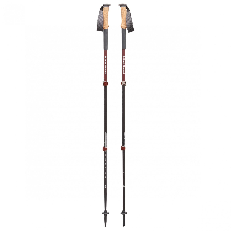 Black Diamond Alpine Carbon Cork Walking Poles Women S