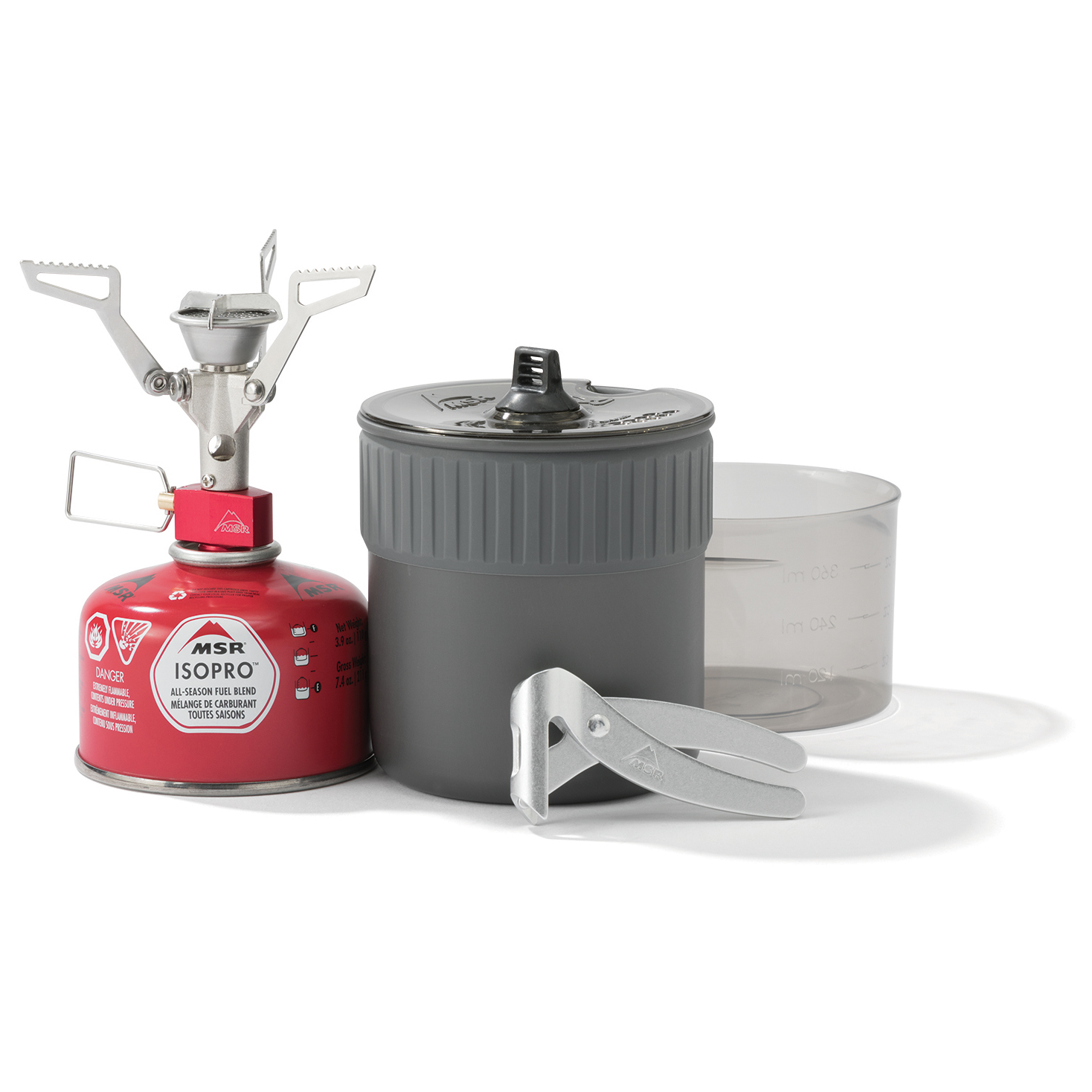 Mini Stove: MSR PocketRocket 2 Mini Stove Kit - Gas Stoves