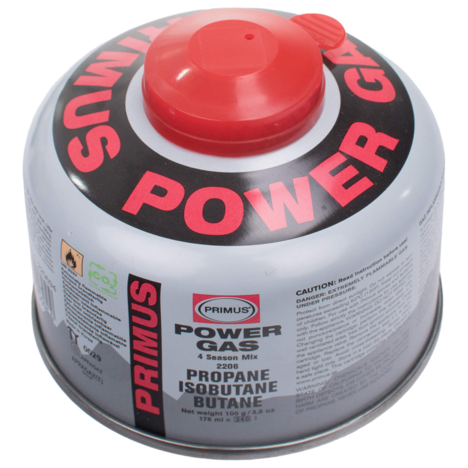 Primus PowerGas - Gas Canister | Buy online | Alpinetrek.co.uk