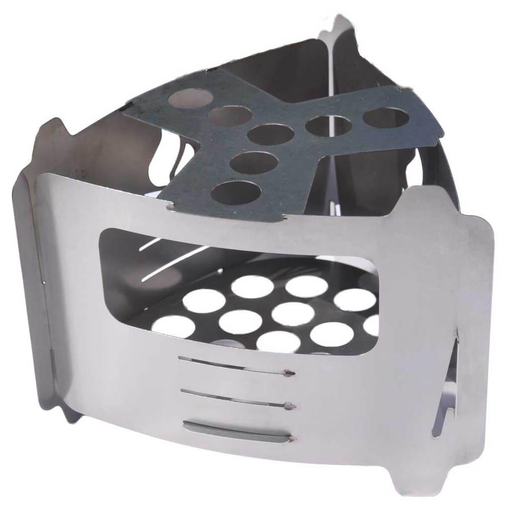 Grillplatte f/ür Bushbox Ultralight