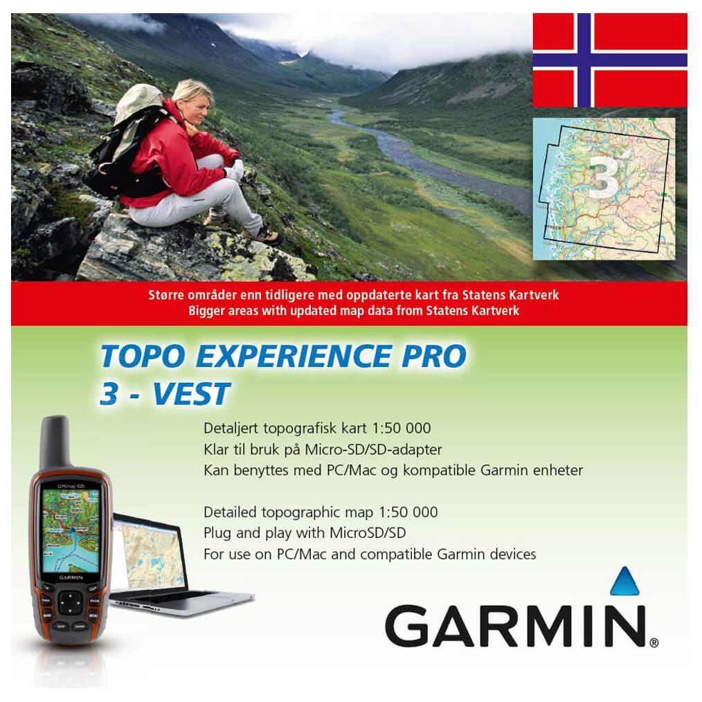 topo pro kart Garmin Topo Experience Pro Norwegen | Free EU Delivery  topo pro kart