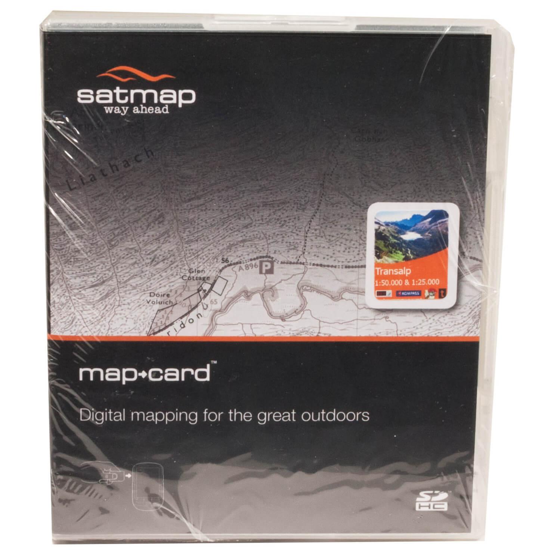 Karte Uk.Satmap Transalp Sd Karte Standard