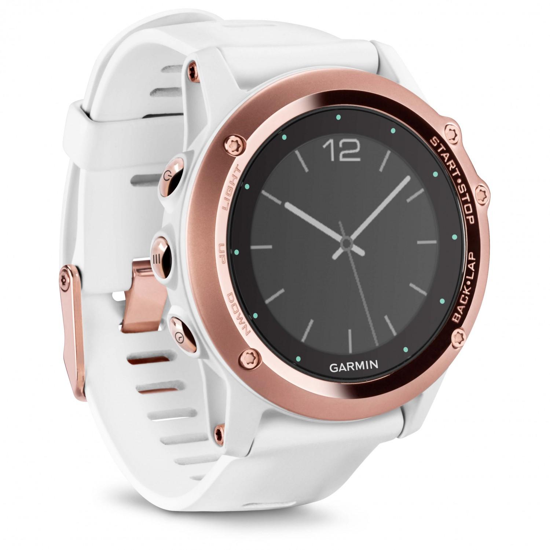 Garmin Fenix 3 Saphir Weiss Rosegold Multi Function Watch Buy