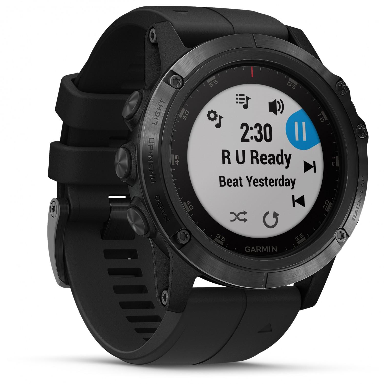 Garmin Fenix 5X Plus Sapphire - Multi-Function Watch   Free UK Delivery   Alpinetrek.co.uk