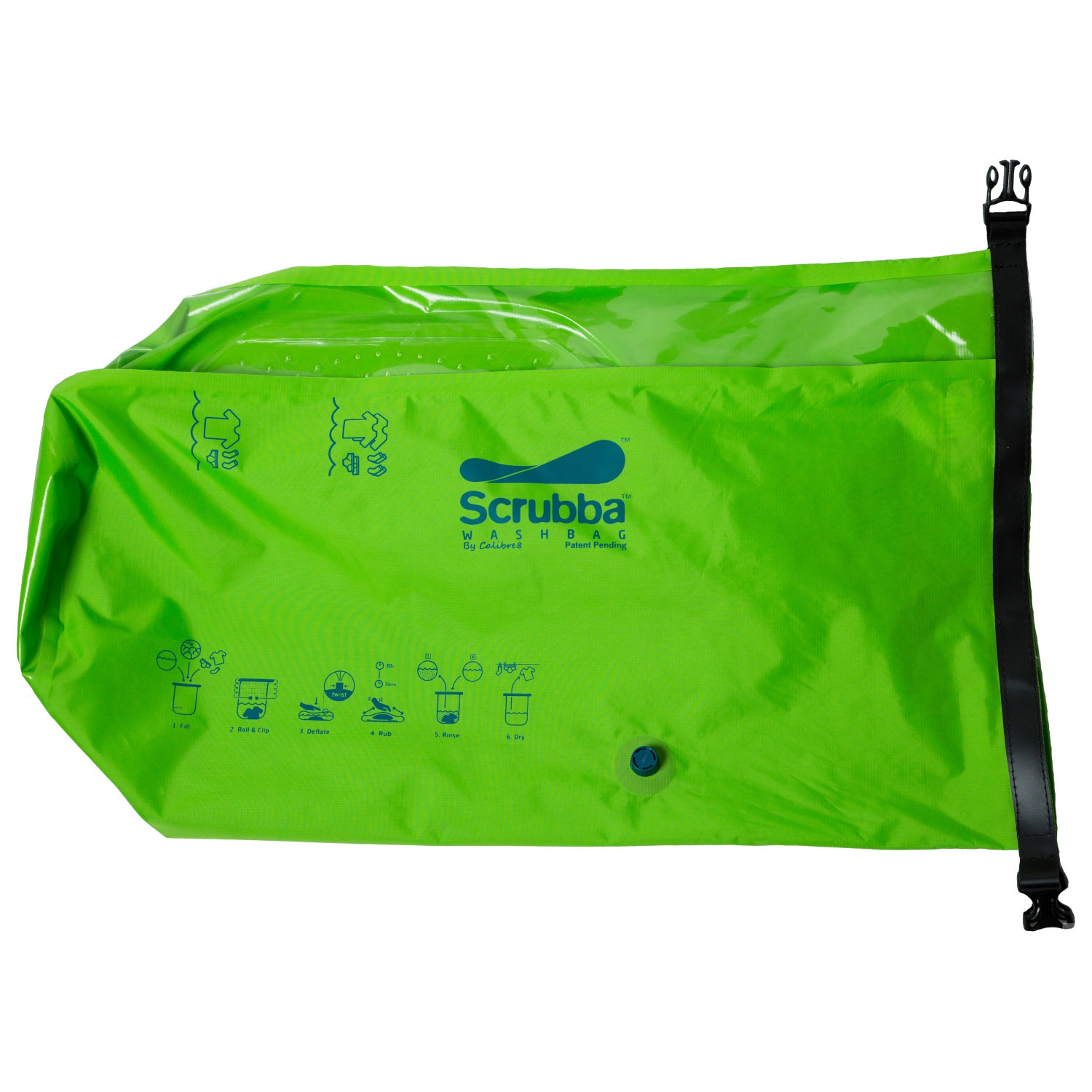 how to use scrubba wash bag