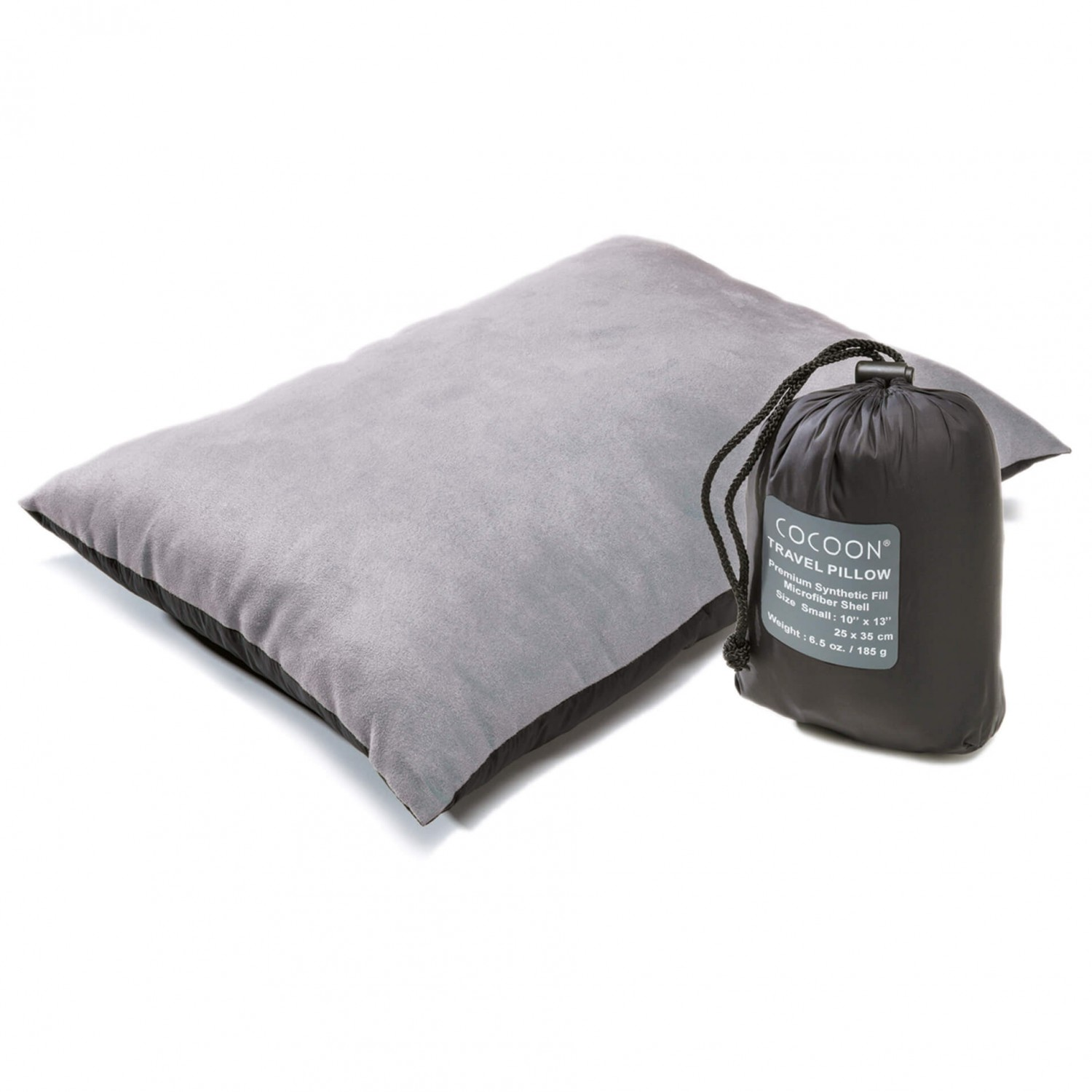 Cocoon Travel Pillow medium charcoal