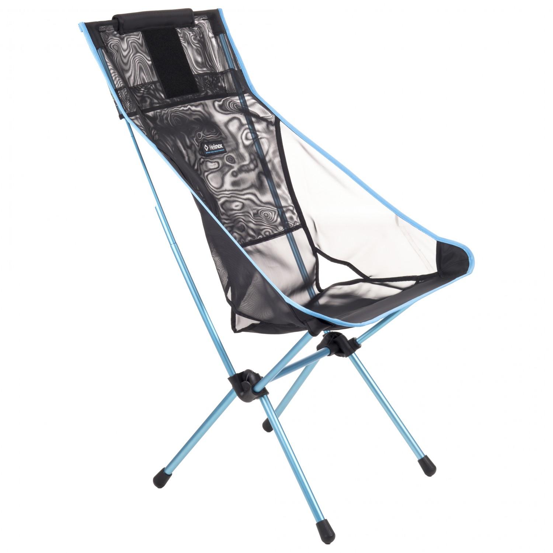 Helinox Sunset Chair.Helinox Sunset Chair Mesh Camping Chair Black 59 X 73 X 98 Cm