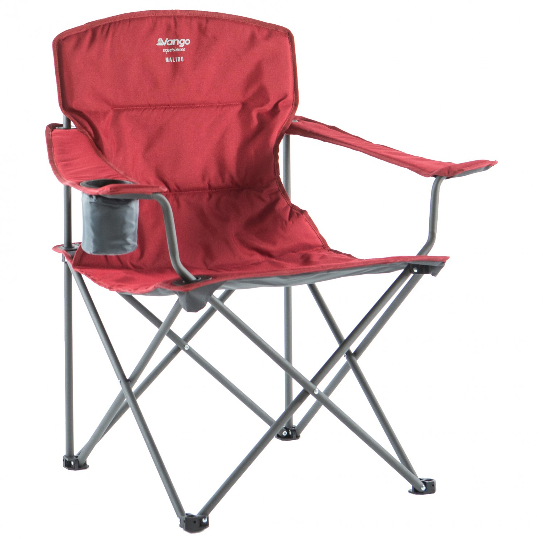 Vango Malibu Folding Camping Chair Red Brand New