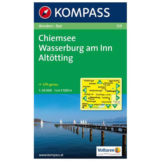 kompass chiemsee wasserburg am inn alt tting online kaufen. Black Bedroom Furniture Sets. Home Design Ideas