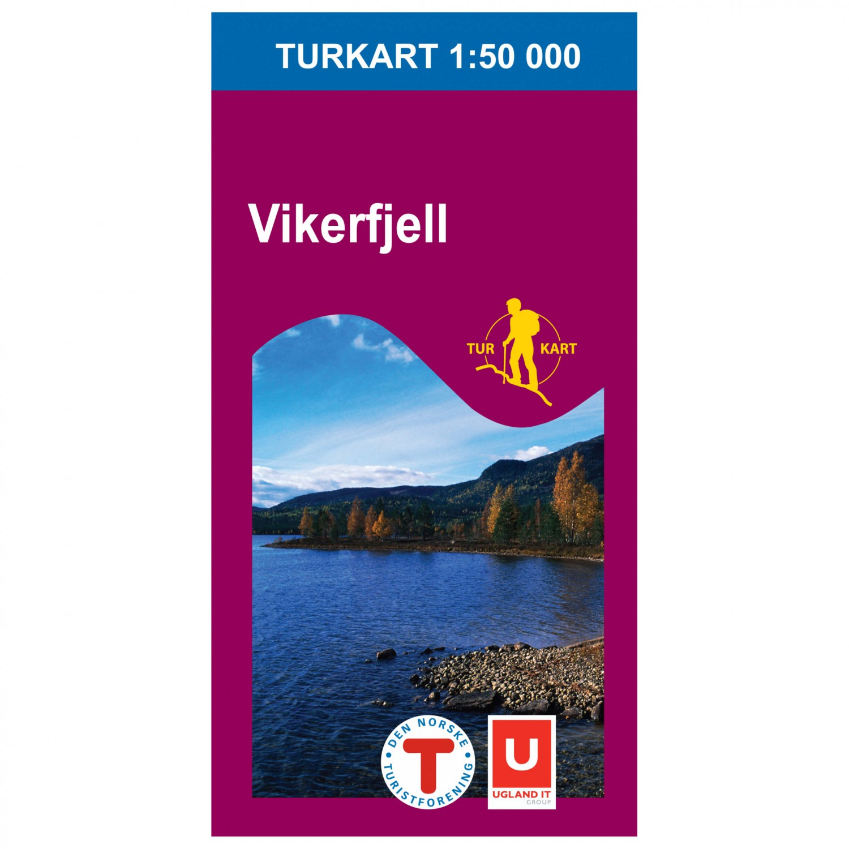 Nordeca Wander Outdoorkarte Vikerfjell 1 50 Hiking Map Buy