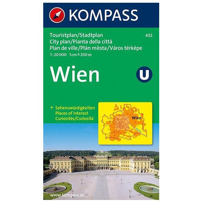 Karte Uk.Kompass Wien Karte Hiking Map Karte