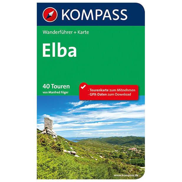 Elba Karte.Kompass Elba Walking Guide Books