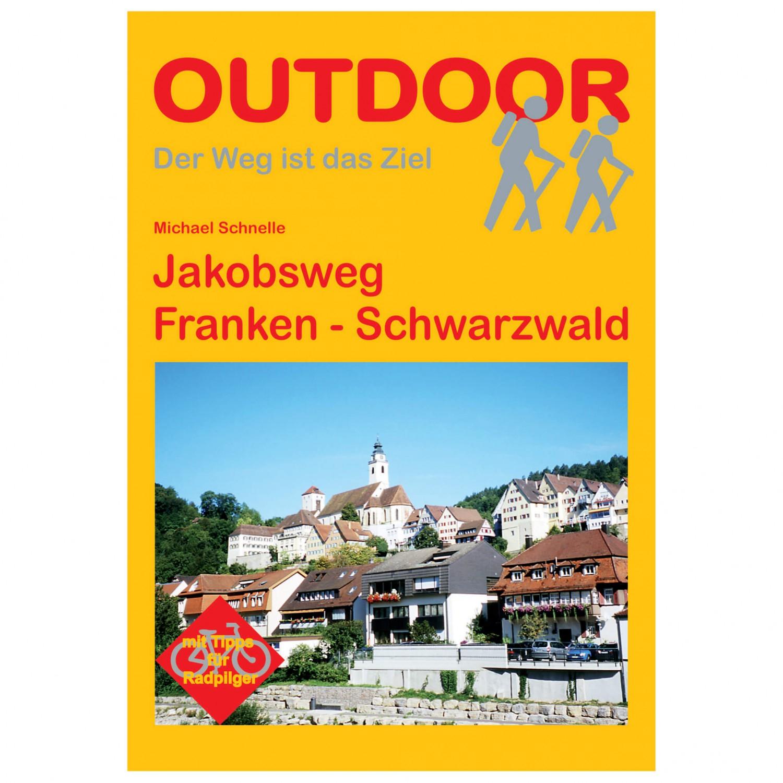 Jakobsweg Franken Karte.Conrad Stein Verlag Jakobsweg Franken Schwarzwald Wanderführer 1 Auflage 2012