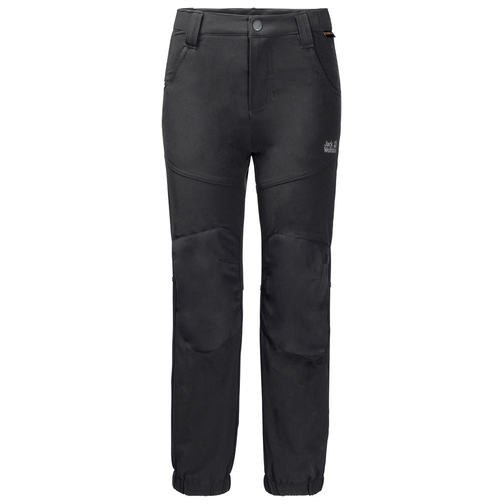 Jack Wolfskin Kid's Rascal Winter Pants Softshellhose Black | 104 (EU)