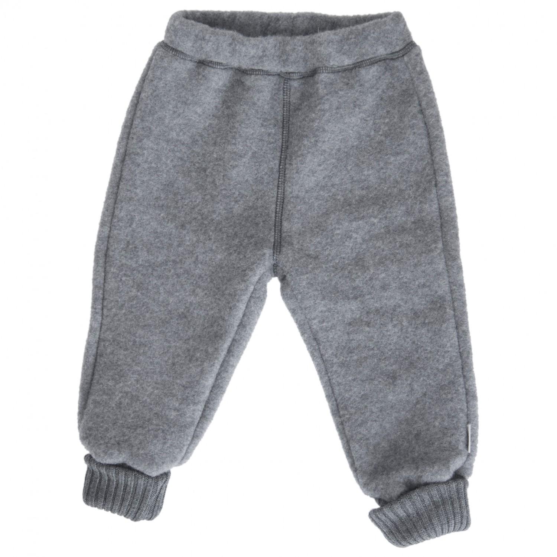 59d12ee03 Mikk-Line - Kid's Wool Pants - Fleece trousers - Blue Nights   80 (EU)