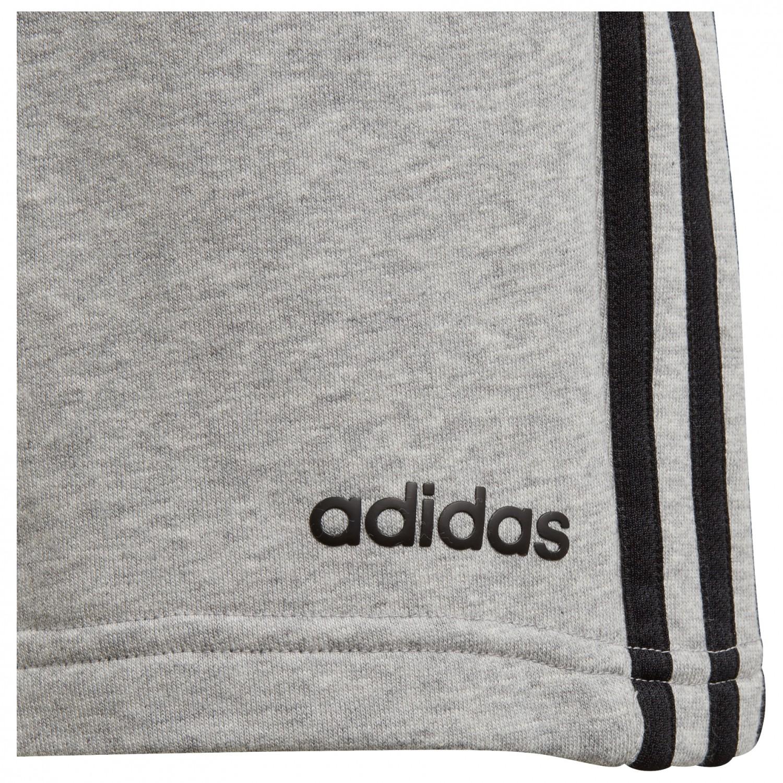 adidas Boy's Essentials 3 Streifen KN Shorts Shorts Medium Grey Heather Black | 128 (EU)