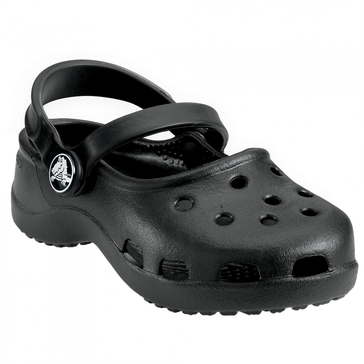 online store e37fd 24442 Crocs - Girls Mary Jane - Sandali da trekking - Black | 21 / 22 (EU)