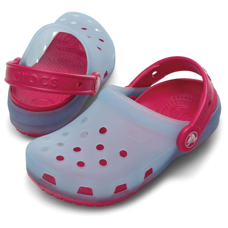 Crocs Kids Chameleons Translucent Clog