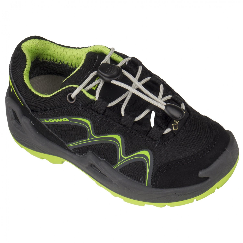 casual shoes finest selection good texture Lowa - Innox GTX Lo Junior - Multisportschuhe - Black / Lime | 25 (EU)