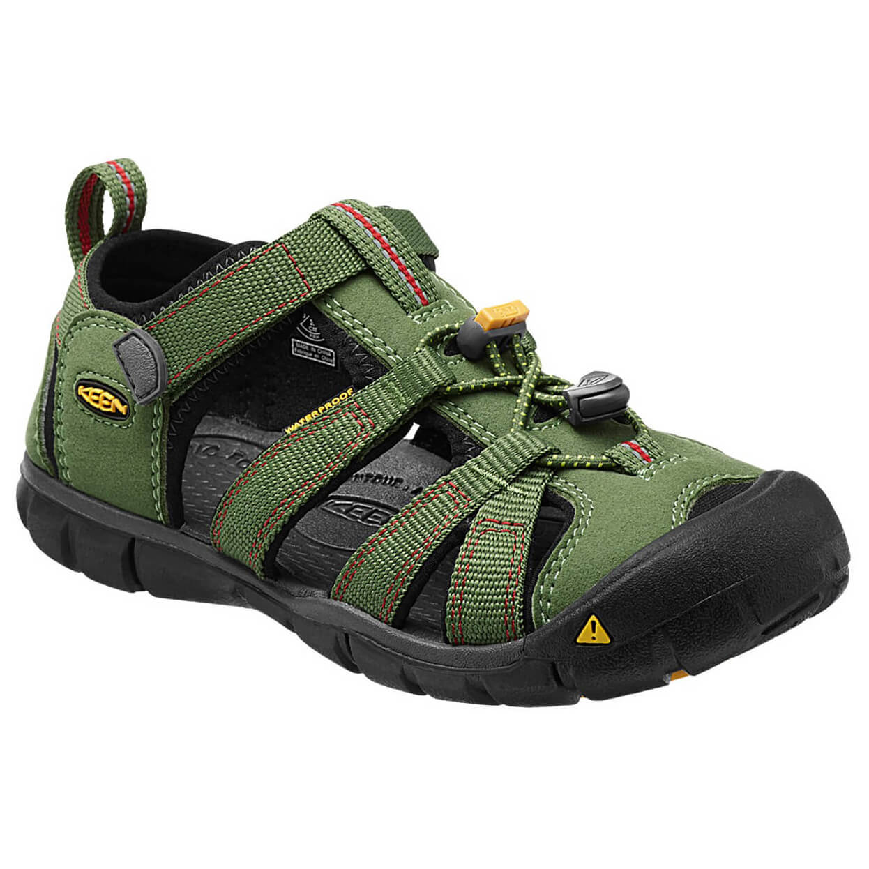 There's a new kid on the trail, KEEN, who made a lot of friends by offering quality outdoor shoes, hiking boots, sandals, and more. Men, women.
