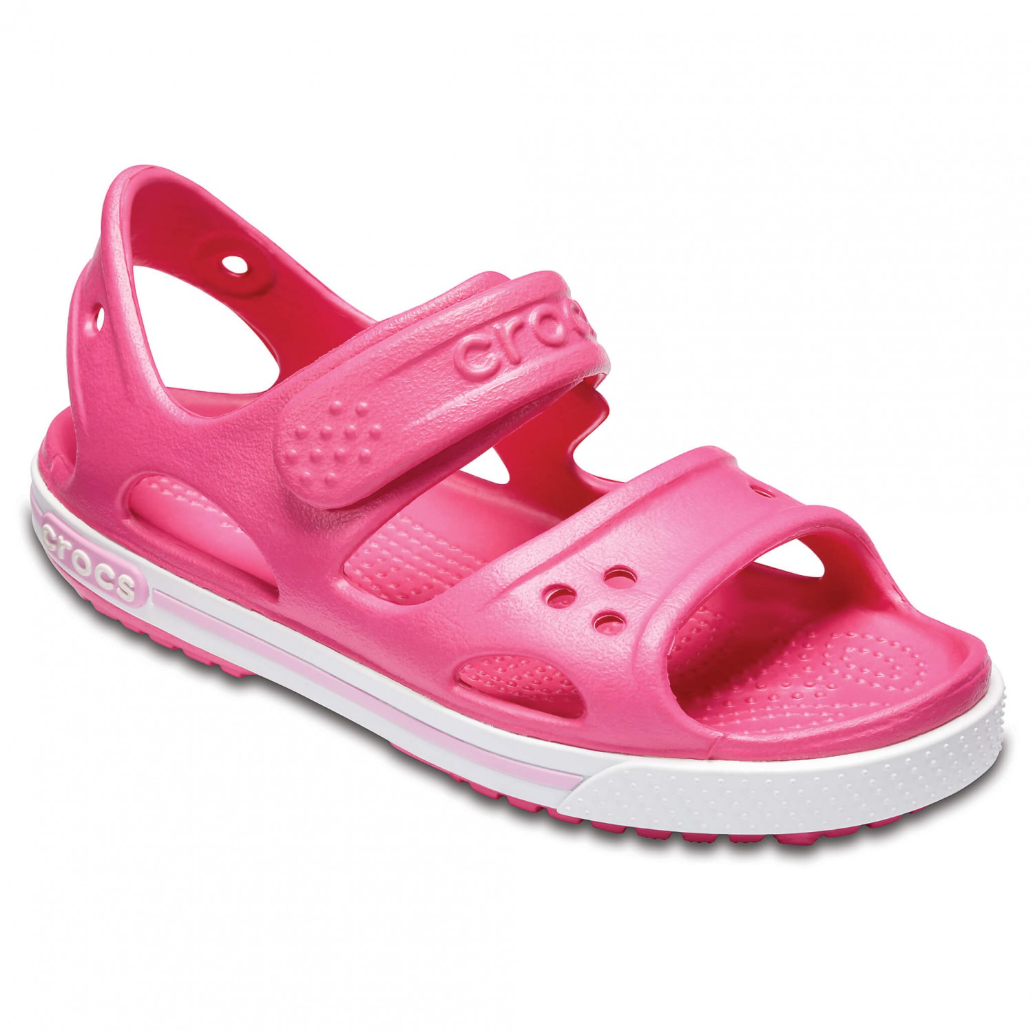 low priced 4f4cc 1367f Crocs - Kid's Crocband II Sandal PS - Sandals - Paradise Pink / Carnation |  C12 (US)