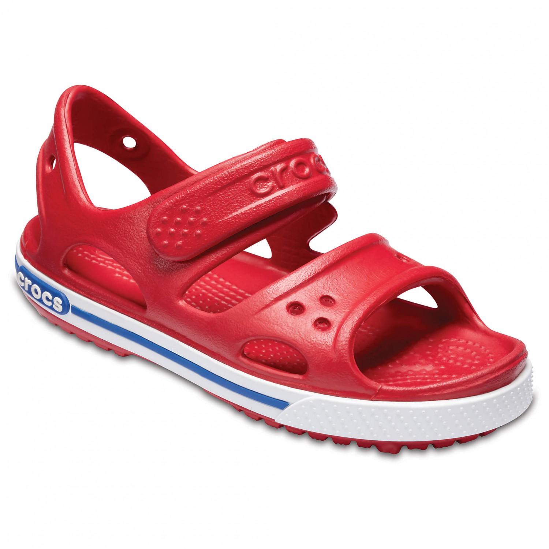 Sandalen CROCS - Crocband II Sandal Ps 14854 Pepper/Blue Jean zQrjk