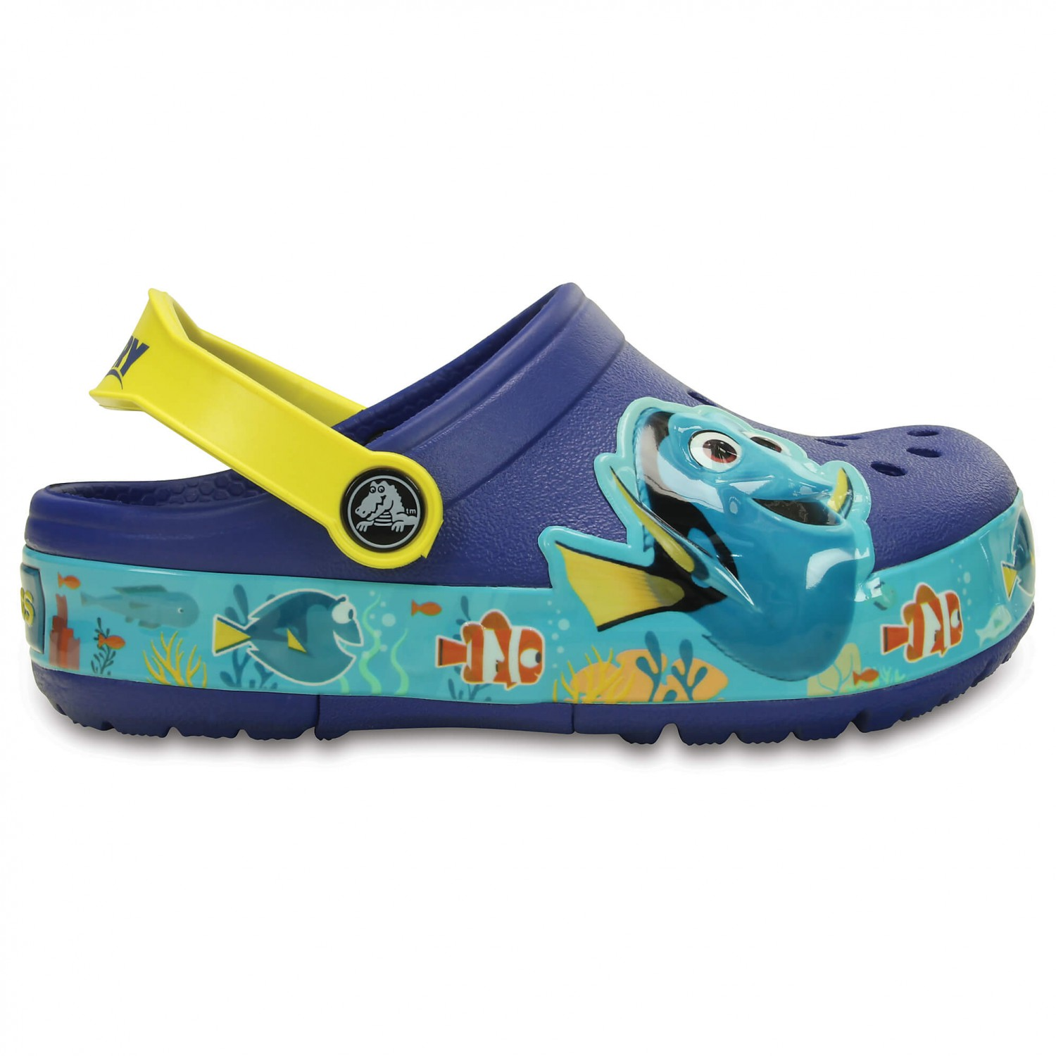 crocs crocslights finding dory clog kinder online kaufen. Black Bedroom Furniture Sets. Home Design Ideas