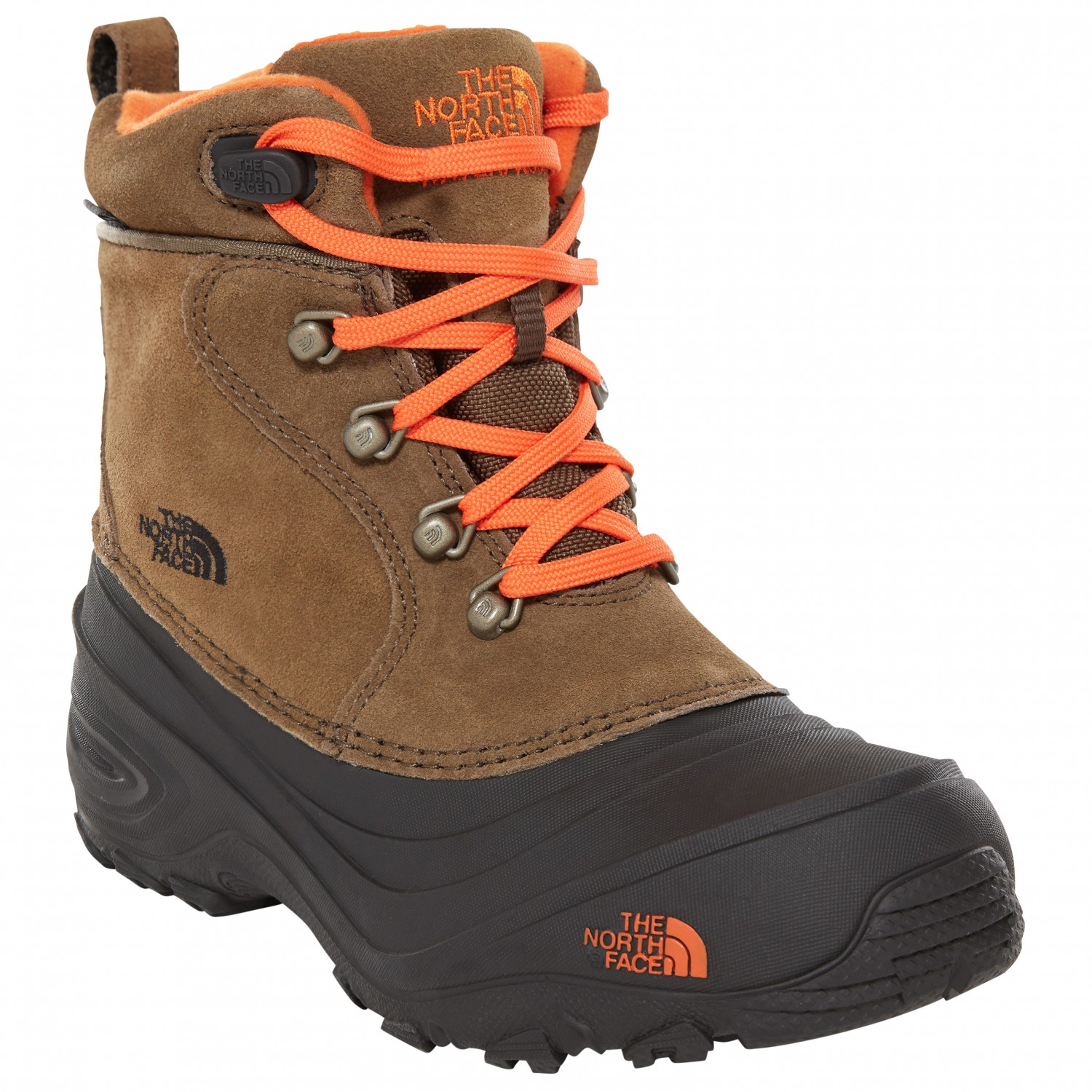 0378dc79a The North Face - Youth Chilkat Lace II - Winter boots - TNF Black / Zinc  Grey | 10K (US)