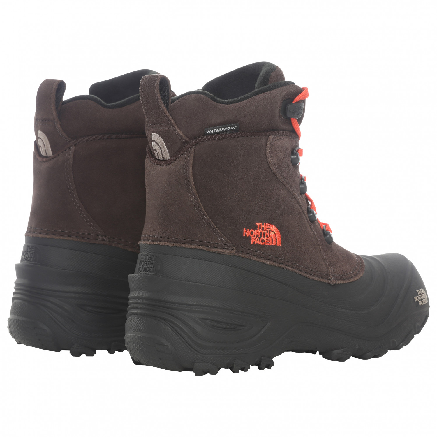 20e303df2 The North Face - Youth Chilkat Lace II - Winter boots - TNF Black / Zinc  Grey | 10K (US)