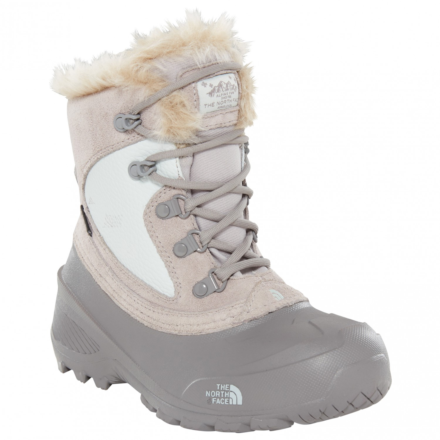 5d0f38188 The North Face - Youth Shellista Extreme - Winter boots - Foil Grey / Ice  Blue | 10K (US)