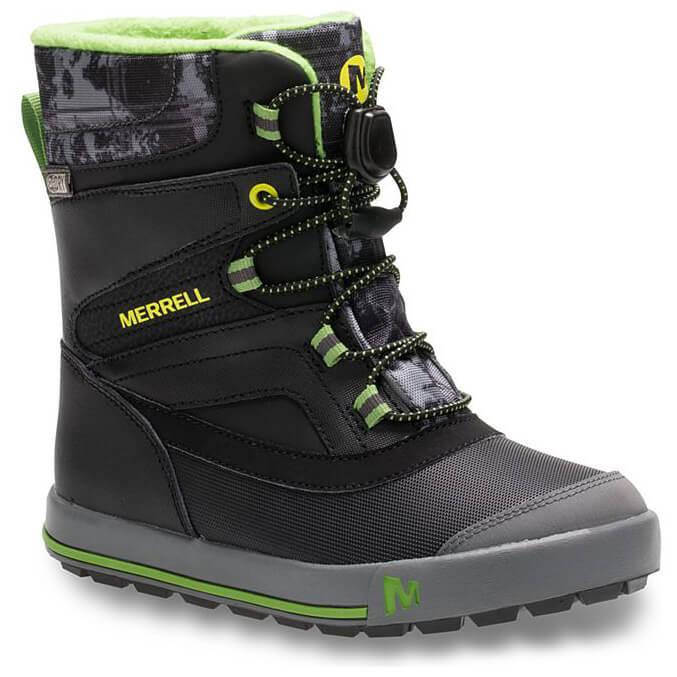 6fca72798332 Merrell - Boys Snow Bank 2.0 Waterproof - Winter boots