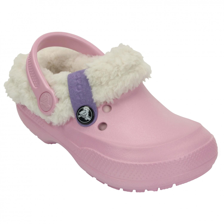 Kinder Schuhe Sandalen Pantoffel warm gefüttert CROCS Blitzen II Clog KIDS