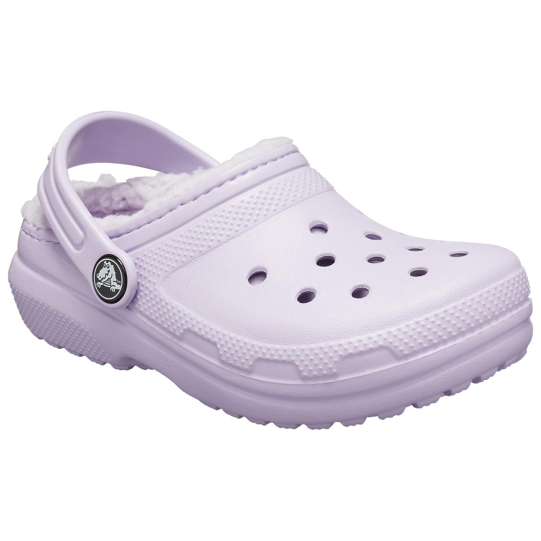 Crocs Kids Classic Fuzz Lined Clog