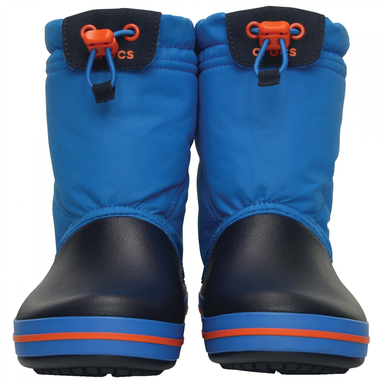 Crocs Kids Light Blue Crocband LodgePoint Boots Kids Crocband LodgePoint Boots